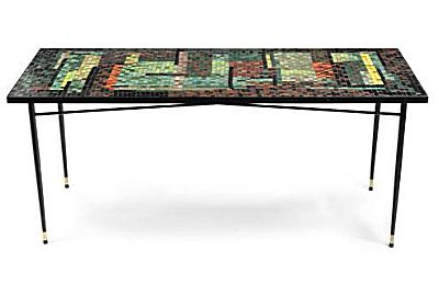 Mosaic dining table, circa 1960 | John Piper