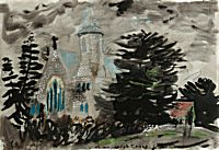 High Cross, Hampshire | John Piper