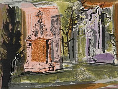 Blenheim Gates | John Piper