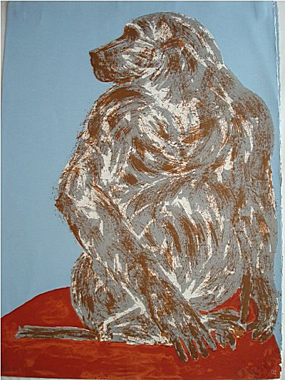 The Baboon | Elisabeth Frink