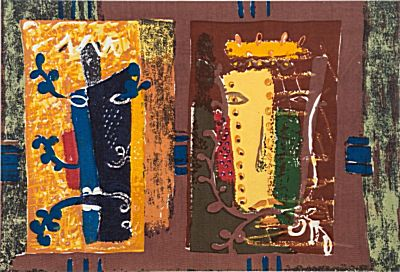 Foliate Heads | John Piper