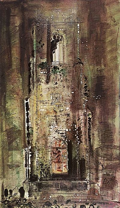 Corton Church, Suffolk | John Piper