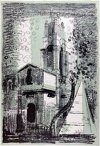 St Anne's, Limehouse | John Piper