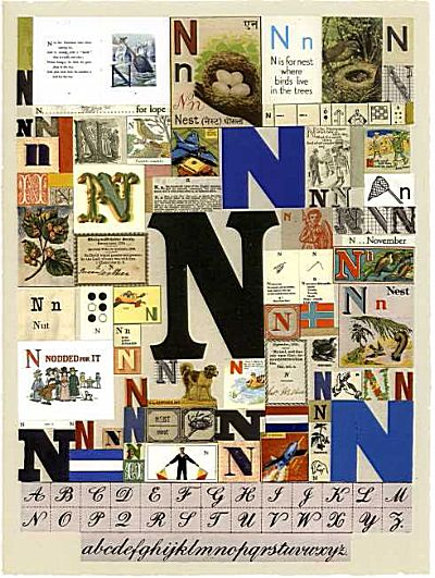 The Letter N | Peter Blake
