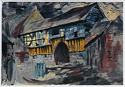 Wigmore Abbey Gateway | John Piper