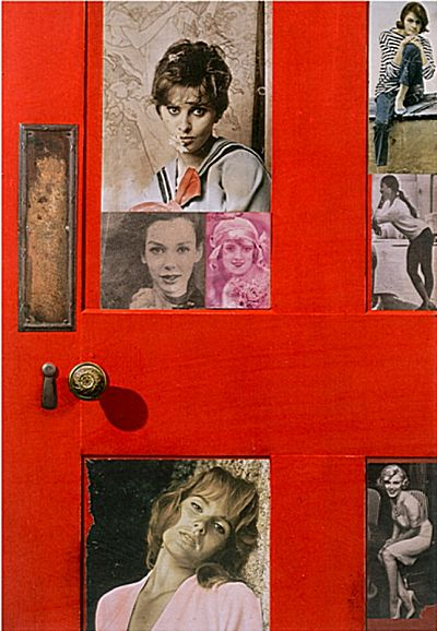 Girlie Door | Peter Blake