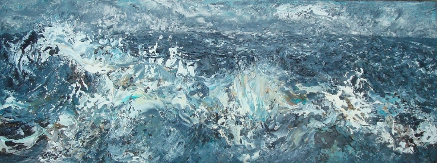 Choppy Seas, March | Maggi Hambling