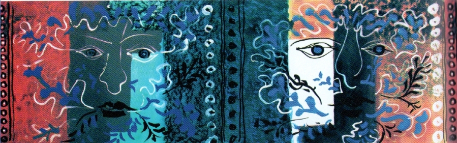 Foliate Head, frieze | John Piper