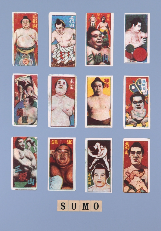 S is for Sumo | Peter Blake