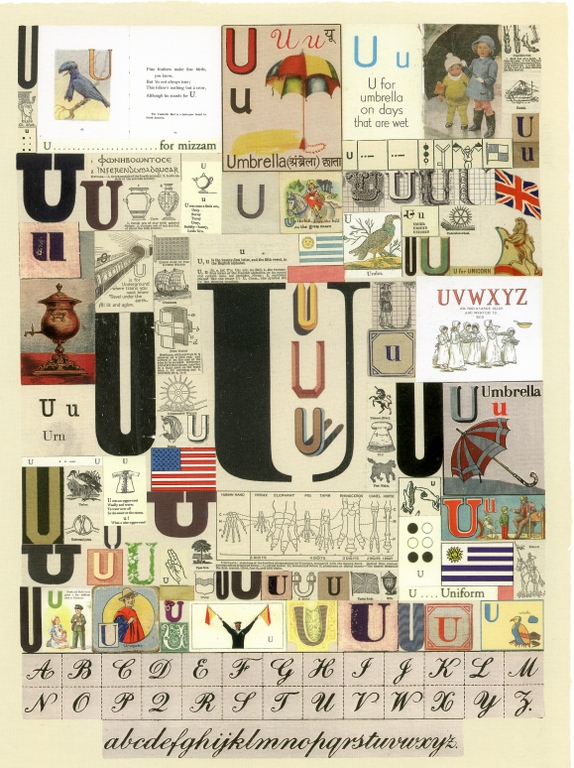 The Letter U | Peter Blake