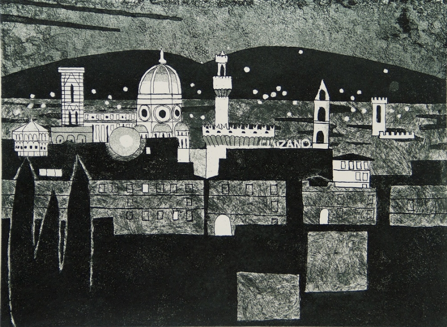Florence at Night (Florence Suite) | Julian Trevelyan